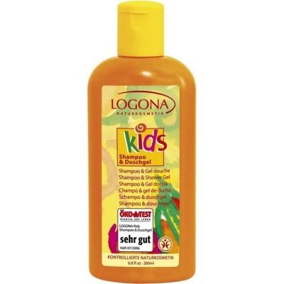 Logona-Organik Çocuk Bakım Şampuanı Ve Duş Jeli 200ml