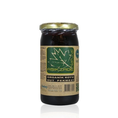Aşıkzade - Organik Koyu Yaş Dut Pekmezi 300 gr