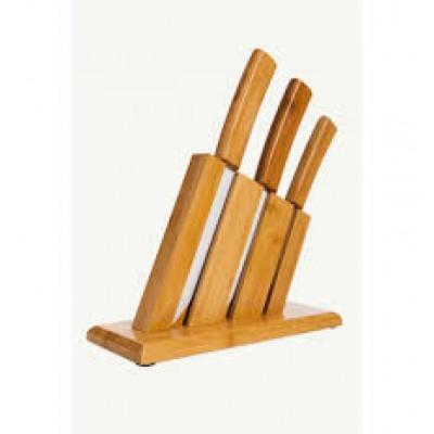 Bambum - Vallon Standlı Bıçak Seti