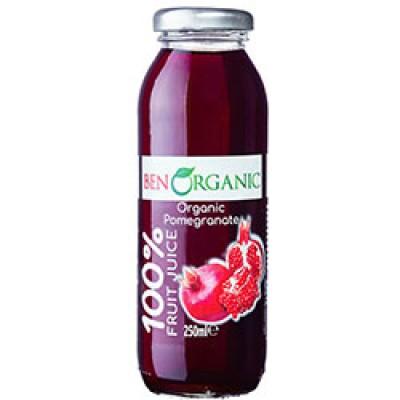 BenOrganic - Organik Nar Suyu 250 ml