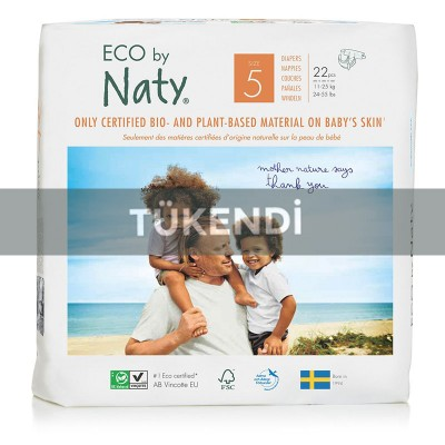 Eco By Naty -Naty Bebek Bezi-Junior (No:5) 11-25kg (22 Adet)