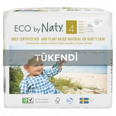 Eco By Naty - Naty Bebek Bezi -Maxi (No:4) 7-18kg (26 Adet)