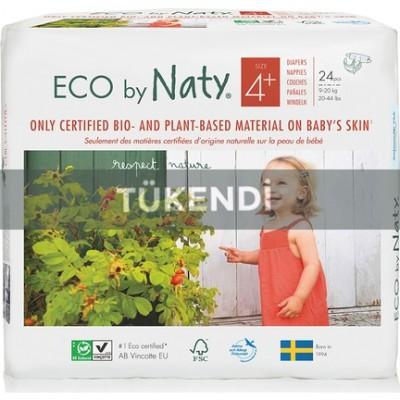 Eco By Naty - Naty Bebek Bezi -Maxi Plus (no:4+) 9-20kg (24 Adet)