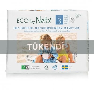 Eco By Naty - Naty Bebek Bezi- Midi (No:3) 4-9Kg (30adet)