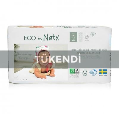 Eco By Naty - Naty Bebek Bezi - Mini (No:2) 3-6kg (33 adet)