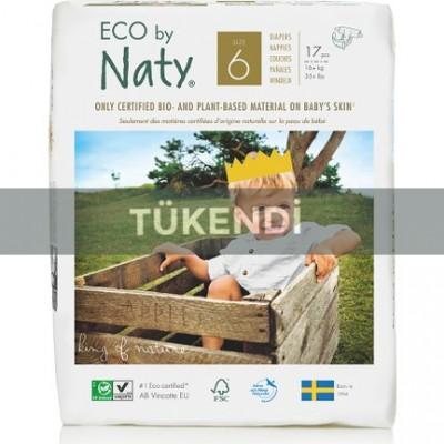 Eco By Naty - Naty Bebek Bezi -XL (No:6) 16kg ve üstü (17 Adet)