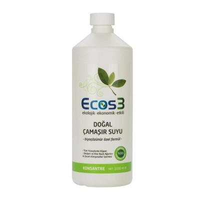 Ecos3 -Doğal Çamaşır Suyu 1000ml