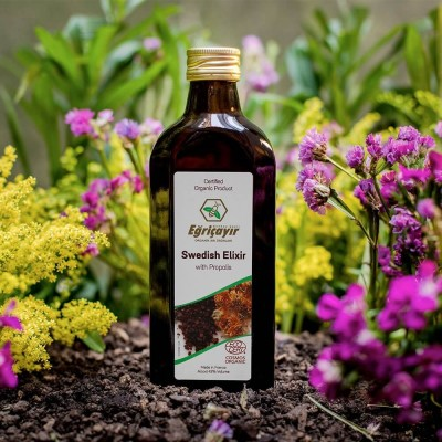 Eğriçayır Organik Alkollü Propolisli İsveç Şurubu 250ml