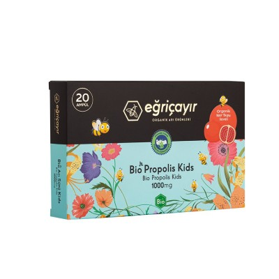 Eğriçayır - Organik Bio Propolis Kids 20 Ampul