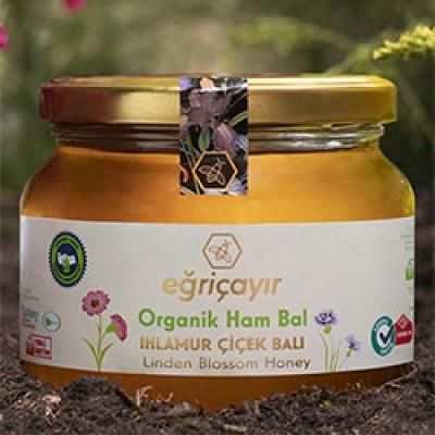 Eğriçayır - Organik Ihlamur Çiçek Balı 450gr