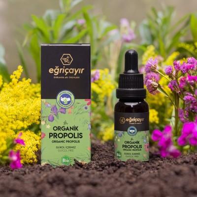 Eğriçayır - Organik Propolis Damla 20 ml