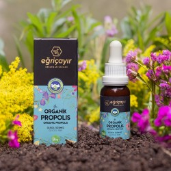 Eğriçayır - Organik Propolis Damla (Çocuklar için su bazlı) 20 ml