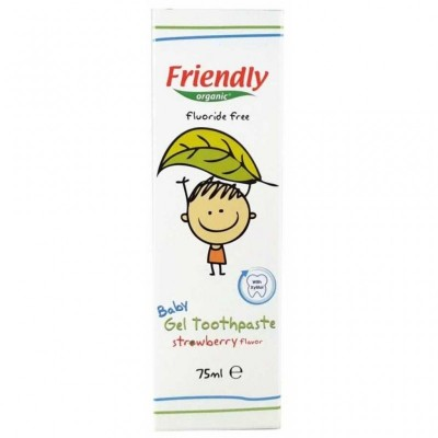 Friendly Organic - Organik  Bebek Jel Diş Macunu 75ml