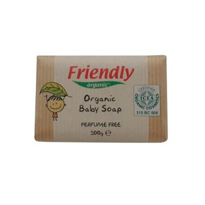Friendly Organic - Organik Bebek Sabunu (parfümsüz) 100gr