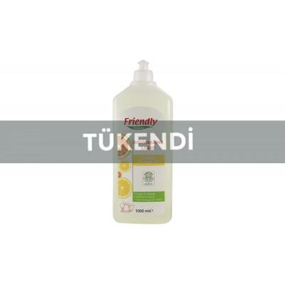 Friendly Organic - Organik Elde Bulaşık Yıkama Sıvısı ( Portakallı) 1LT
