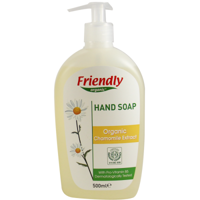 Friendly Organic -Organik Sıvı El Sabunu Papatya 500ml