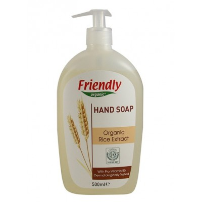 Friendly Organic - Organik Sıvı El Sabunu Pirinç 500ml