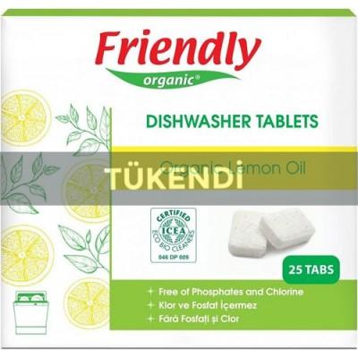 Friendly Organic - Organik Bulaşık Makinesi Tableti 25adt