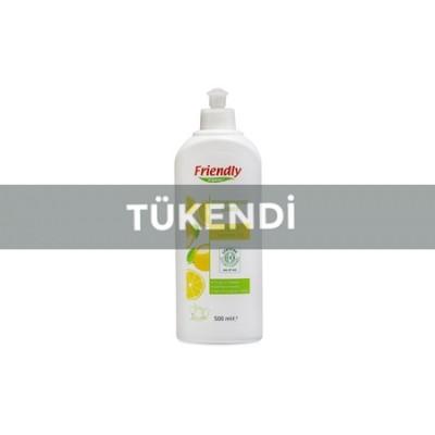 Friendly Organic - Organik Elde Bulaşık Yıkama Sıvısı Limonlu 500ml
