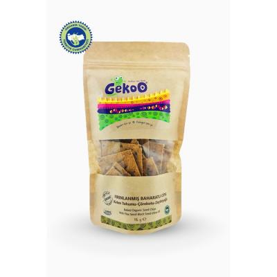 Gekoo - Organik Fırınlanmış Cips (Keten Tohumu&Çörekotu&Zeytinyağı) 115gr