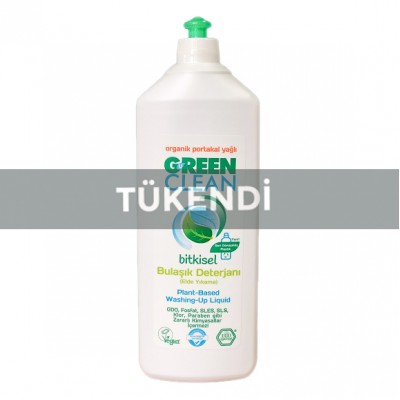 Green Clean - Organik Elde Bulaşık Yıkama Sıvısı Portakal Özlü 730ml