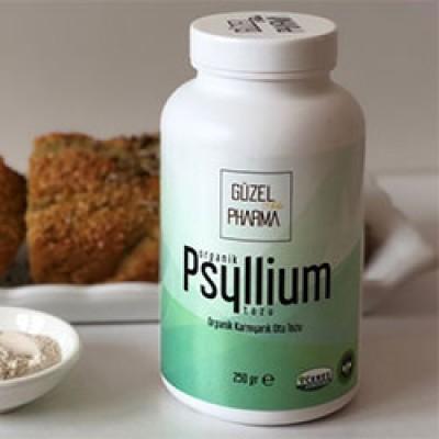 Güzel Gıda - Organik Psyllium Karnıyarık Otu Tozu 250gr