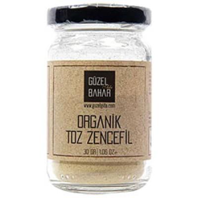 Güzel Gıda -Organik Toz Zencefil 40gr
