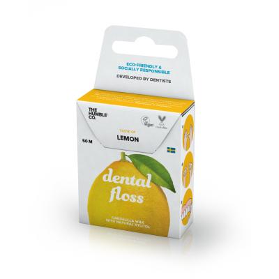 Humble Brush -Organik Diş İpi Limon 50m (Dental Floss)