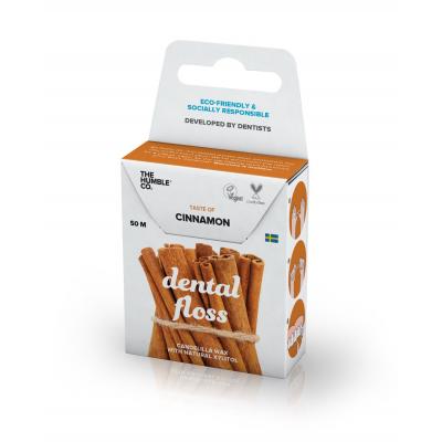 Humble Brush -Organik Diş İpi Tarçın 50m (Dental Floss)