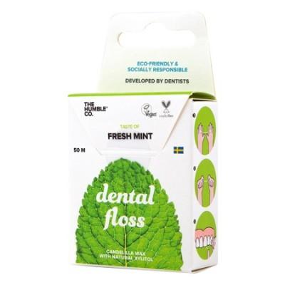 Humble Brush - Organik Diş ipi Taze Nane 50m(Dental Floss)