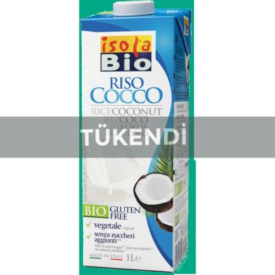 Isola Bio - Organik Glutensiz Hindistancevizli Pirinç Sütü 1000ml