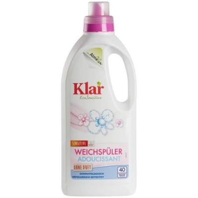 Klar- Organik Çamaşır Yumuşatıcı Kokusuz 1LT
