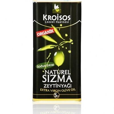 Kroisos - Organik Naturel Sızma Zeytinyağı 5Lt