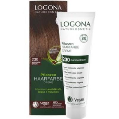 Logona - Organik Bitkisel Krem Saç Boyası (Kestane)
