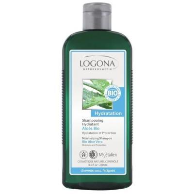Logona - Organik Nemlendirici Şampuan Aloe Vera Özlü 250ml