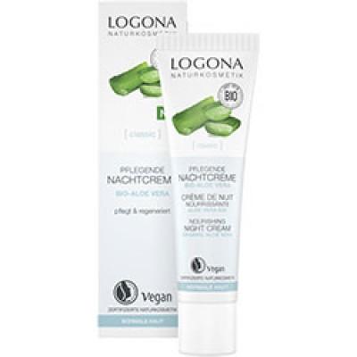 Logona -Organik Besleyici Gece Kremi (Aloe Vera) 30ml