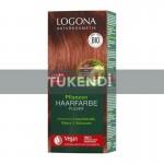 Logona - Organik Bitkisel Toz Saç Boyası -Doğal Kızıl 030