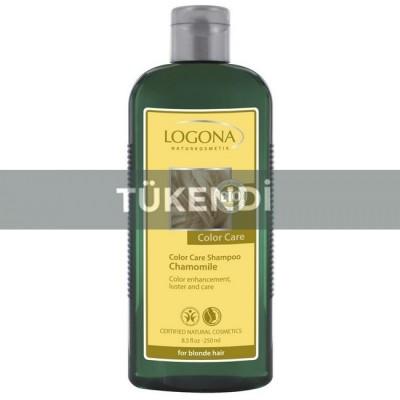 Logona - Organik Boyalı Sarı Saçlar İçin Papatya Özlü Şampuan 250ml