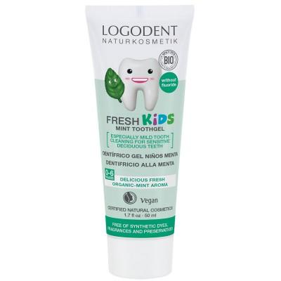 Logona - Organik Çocuklar İçin Naneli Diş Macunu 50ml