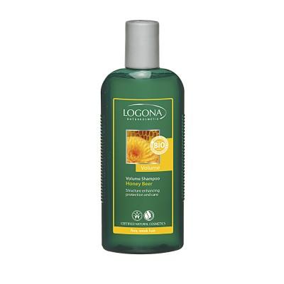 Logona - Organik Hacim Kazandıran Ballı-Biralı Şampuan 250ml