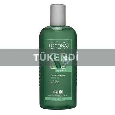 Logona - Organik Kremli Bambu Özlü Şampuan 250ml