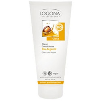 Logona - Organik Parlaklık Veren Saç Bakım Kremi Argan Yağlı 200ml