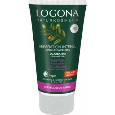 Logona - Organik Onarıcı Saç Bakım Kremi Jojoba Özlü 150 ml