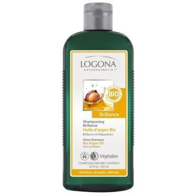 Logona - Organik Parlaklık Veren Şampuan Argan Yağlı 250ml