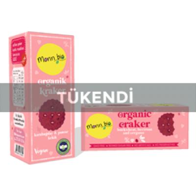 Monn Bio - Organik Karabuğdaylı Pancarlı Kekikli Kraker 80gr