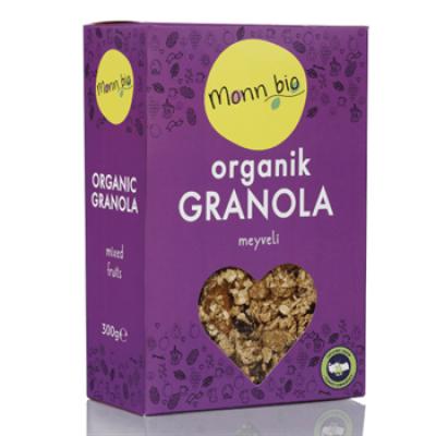 Monn Bio - Organik Meyveli Granola 330gr