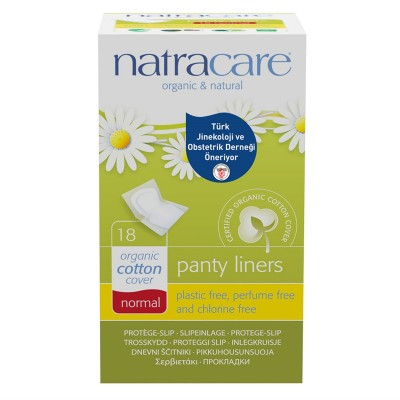 Natracare - Organik Günlük Ped Normal 18 Adet