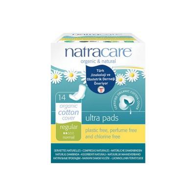 Natracare - Organik Ultra Kanatlı Ped ( Normal) 14 Adet