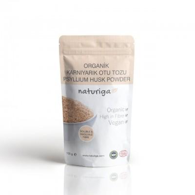 Naturiga - Organik Karnıyarık Otu Tohumu Tozu 100gr