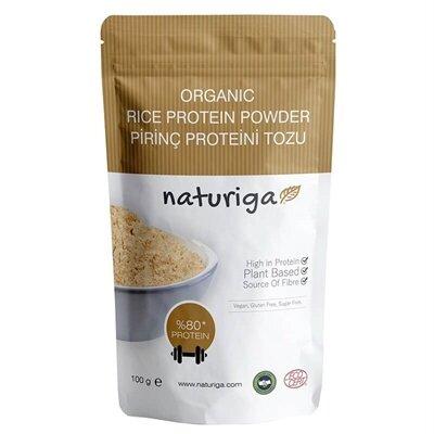 Naturiga - Organik Pirinç Proteini Tozu 100gr